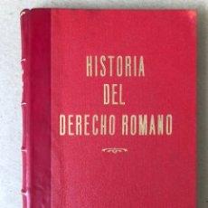 Libros de segunda mano: HISTORIA DEL DERECHO ROMANO. WOLFGANG KUNKEL. EDICIONES ARIEL 1970.. Lote 208862672