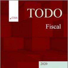 Livros em segunda mão: TODO FISCAL. 1ª EDICIÓN 2020 CISS. COLECCIÓN TODO. Lote 209118005