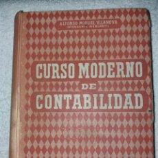 Libros de segunda mano: CURSO MODERNO DE CONTABILIDAD. AÑO 1955. Lote 209295212