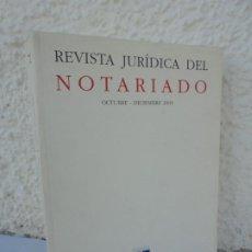 Libros de segunda mano: REVISTA JURIDICA DEL NOTARIADO. Nº72 OCTUBRE-DICIEMBRE 2009. ANTONIO RODRIGUEZ ADRADOS. 2010. Lote 210146922
