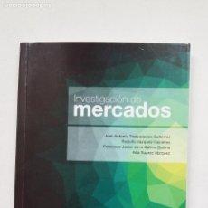 Libros de segunda mano: INVESTIGACION DE MERCADOS. JUAN ANTONIO TRESPALACIOS GUTIERREZ. PARANINFO. TDK463. Lote 210268732