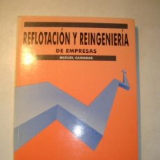 Libros de segunda mano: REFLOTACIÓN Y REINGENIERÍA DE EMPRESAS - MIGUEL CAÑADAS - 1994 EDICIONES GESTIÓN 2000, S.A.. Lote 210604162