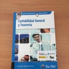 Libros de segunda mano: CONTABILIDAD GENERAL Y TESORERÍA. Lote 210803609