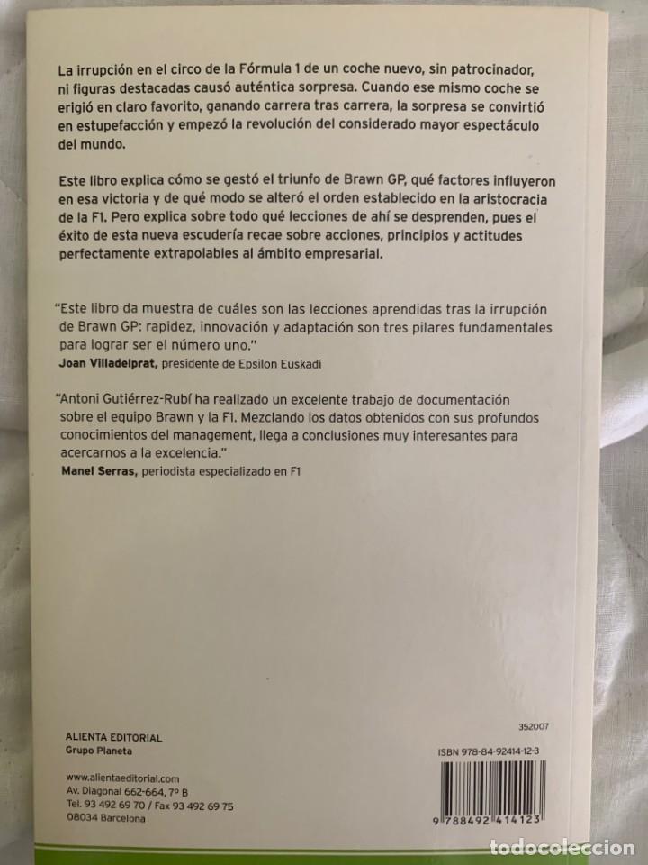 Libros de segunda mano: Lecciones de Brawn GP - Las 10 claves empresariales para competir con éxito - Antoni Gutierrez Rubí - Foto 6 - 211754741