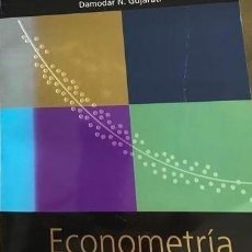 Libros de segunda mano: ECONOMETRIA. DAMODAR MC GRAW HILL. Lote 211892733