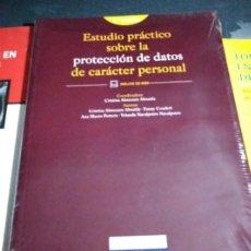 Libros de segunda mano: ESTUDIO PRACTICO SOBRE LA PROTECCION DE DATOS DE CARACTER PERSONAL CRISTINA ALMUZARA ALMAIDA. Lote 212635085