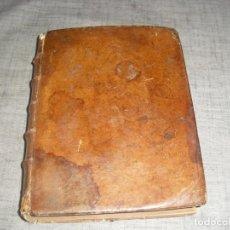 Livres d'occasion: LIBRO ANTIGUO DERECHO FRANCES INSTITUCIONES JUSTINIANO COMPARADAS CON FRANCES 1740. Lote 212922775
