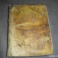 Livres d'occasion: LIBRO DERECHO VALLENSIS ANDREA VALLENSISPARATITLA 1745. Lote 213354093