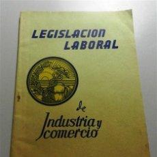 Libros de segunda mano: ESPAÑA. MINISTERIO DE TRABAJO. LEGISLACIÓN LABORAL DE INDUSTRIA Y COMERCIO : REGLAMENTACIÓN NACIONAL. Lote 213802492