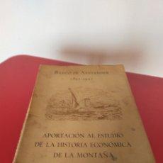 Libros de segunda mano: LIBRO BANCO DE SANTANDER. Lote 214071691