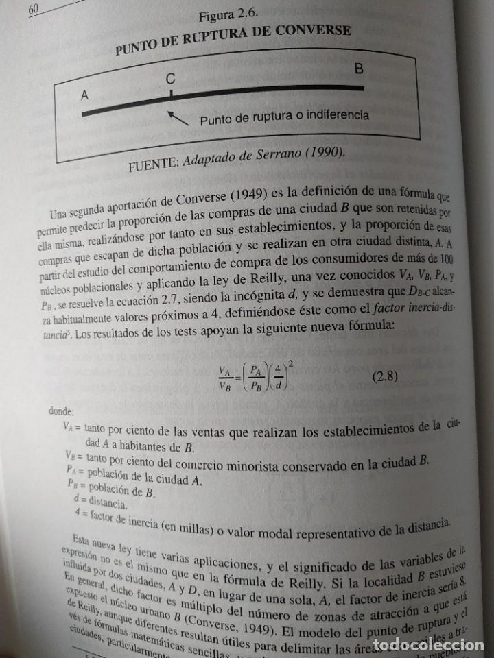 Libros de segunda mano: MARKETING / LA ATRACCIÓN QUE EJERCEN LOS CENTROS COMERCIALES SOBRE LOS CONSUMIDORES - Foto 6 - 217933158