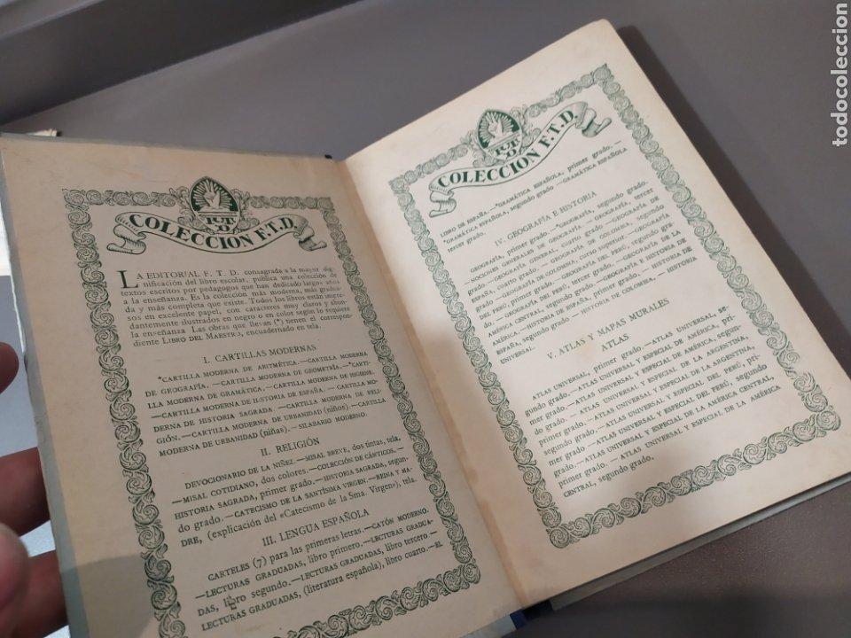 Libros de segunda mano: Teneduría de libros 2º Y 3º grado de FTD (fobat timoratem deum) 1925y 1926 - Foto 4 - 218548790