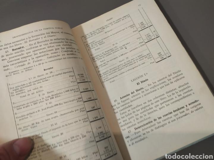Libros de segunda mano: Teneduría de libros 2º Y 3º grado de FTD (fobat timoratem deum) 1925y 1926 - Foto 7 - 218548790