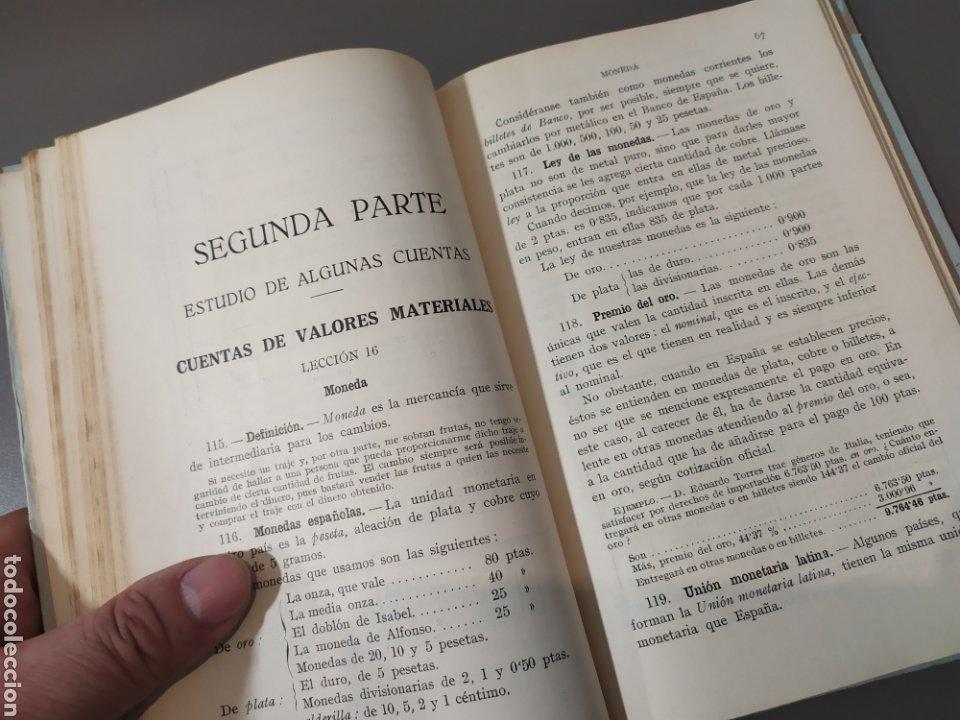 Libros de segunda mano: Teneduría de libros 2º Y 3º grado de FTD (fobat timoratem deum) 1925y 1926 - Foto 9 - 218548790