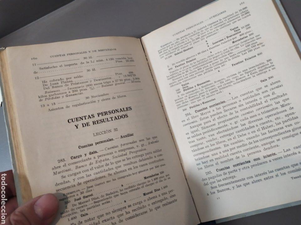 Libros de segunda mano: Teneduría de libros 2º Y 3º grado de FTD (fobat timoratem deum) 1925y 1926 - Foto 11 - 218548790