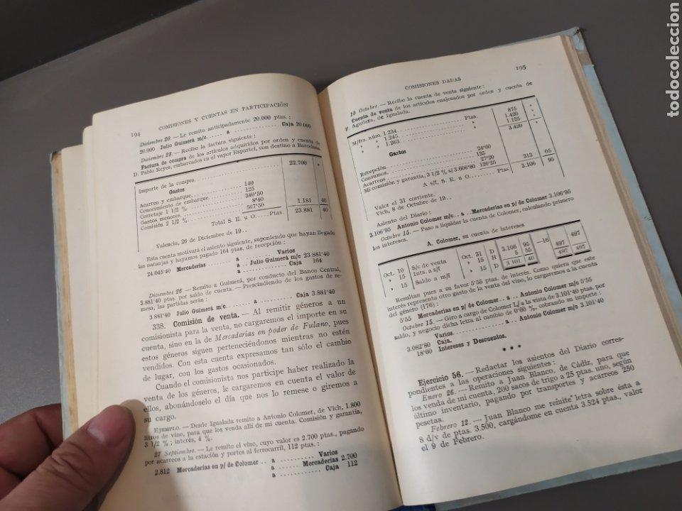 Libros de segunda mano: Teneduría de libros 2º Y 3º grado de FTD (fobat timoratem deum) 1925y 1926 - Foto 13 - 218548790