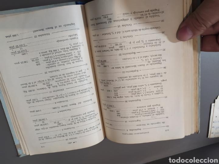 Libros de segunda mano: Teneduría de libros 2º Y 3º grado de FTD (fobat timoratem deum) 1925y 1926 - Foto 14 - 218548790