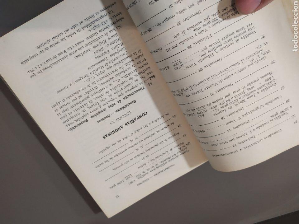 Libros de segunda mano: Teneduría de libros 2º Y 3º grado de FTD (fobat timoratem deum) 1925y 1926 - Foto 25 - 218548790