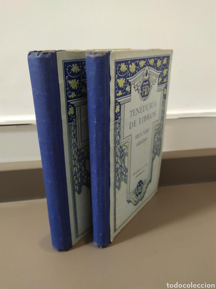 Libros de segunda mano: Teneduría de libros 2º Y 3º grado de FTD (fobat timoratem deum) 1925y 1926 - Foto 37 - 218548790