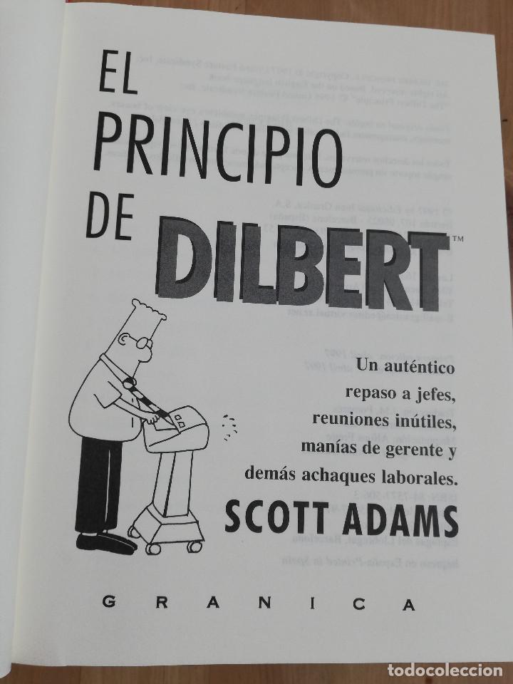 Libros de segunda mano: EL PRINCIPIO DE DILBERT (SCOTT ADAMS) - Foto 2 - 219073382