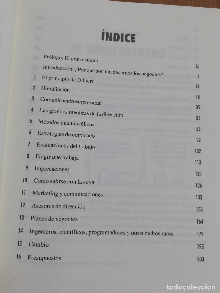 Libros de segunda mano: EL PRINCIPIO DE DILBERT (SCOTT ADAMS) - Foto 3 - 219073382