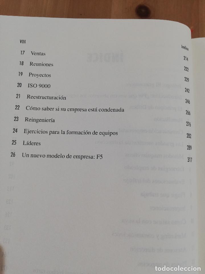 Libros de segunda mano: EL PRINCIPIO DE DILBERT (SCOTT ADAMS) - Foto 4 - 219073382