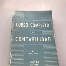 Libros de segunda mano: CURSO COMPLETO DE CONTABILIDAD. Lote 219879993