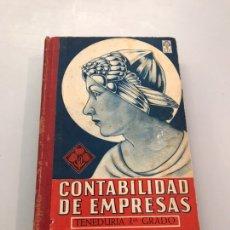 Libros de segunda mano: CONTABILIDAD DE EMPRESAS. Lote 219880607