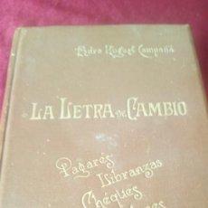 Libros de segunda mano: LA LETRA DE CAMBIO. Lote 220453536