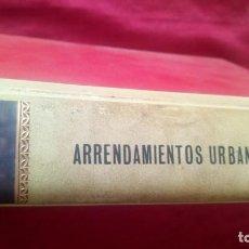 Libros de segunda mano: ARRENDAMIENTOS URBANOS. Lote 220468233