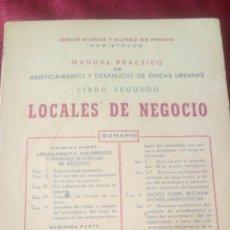 Libros de segunda mano: LOCALES DE NEGOCIO. Lote 220470063