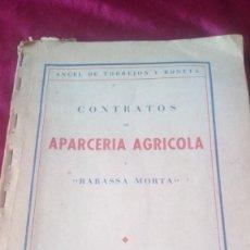 Libros de segunda mano: APARIENCIA AGRICOLA. Lote 220488746