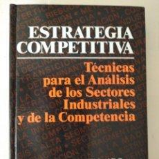 Livros em segunda mão: ESTRATEGIA COMPETITIVA MICHAEL E. PORTER. Lote 221769101