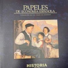 Libros de segunda mano: PAPELES DE ECONOMIA. HISTORIA DE LAS CAJAS DE AHORRO: NUEVAS PERSPECTIVAS (105-106, 2005). Lote 222610317