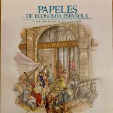 Libros de segunda mano: ECONOMÍA AGROALIMENTARIA: NUEVOS ENFOQUES Y PERSPECTIVAS. PAPELES DE ECONOMÍA ESPAÑOLA, Nº117-2008. Lote 222610458