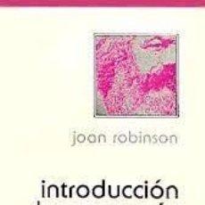 Libri di seconda mano: INTRODUCCIÓN A LA ECONOMÍA MARXISTA JOAN ROBINSON. Lote 222984126