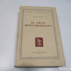 Libros de segunda mano: HENRY HAZLITT EL GRAN DESCUBRIMIENTO Q4143T. Lote 227827520