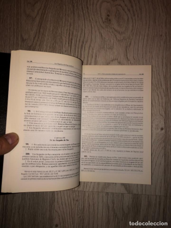 Libros de segunda mano: LEY ORGANICA DEL PODER JUDICIAL (comentarios y jurisprudencia) - JOSE L. NAVARRO PEREZ - Foto 3 - 228219930