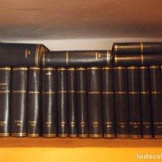Libros de segunda mano: LEGISLACIÓN AÑOS 94/95/96 21 TOMOS 24 X 20 CM. Lote 231357330