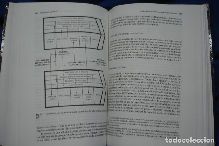 Libros de segunda mano: VENTAJA COMPETITIVA- MICHAEL E. PORTER - ED. CECSA, MÉXICO 1994 - Foto 3 - 233374145