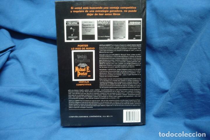 Libros de segunda mano: VENTAJA COMPETITIVA- MICHAEL E. PORTER - ED. CECSA, MÉXICO 1994 - Foto 4 - 233374145