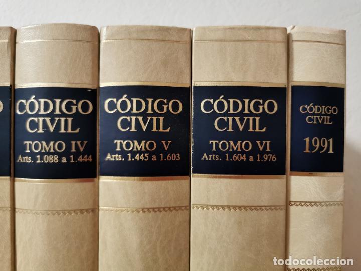 Libros de segunda mano: Código civil : doctrina y jurisprudencia Albácar López, José Luis, Mariano Martin Granizo 1991 - Foto 5 - 233982580