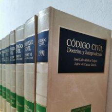 Libros de segunda mano: CÓDIGO CIVIL : DOCTRINA Y JURISPRUDENCIA ALBÁCAR LÓPEZ, JOSÉ LUIS, MARIANO MARTIN GRANIZO 1991. Lote 233982580