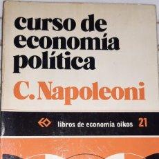 Libros de segunda mano: CURSO DE ECONOMIA POLITICA C.NAPOLEONI. Lote 234129135
