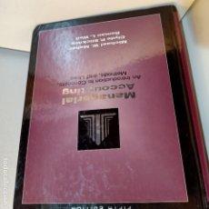 Libros de segunda mano: MANAGERIAL ACCOUNTING, V.V.A.A., ECONOMIA / CONOMY, DRYDEN, QUINTA EDICION, 1994. Lote 234324140