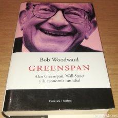 Libros de segunda mano: GREENSPAN - BOB WOODWARD. Lote 234750330