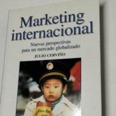 Libros de segunda mano: MARKETING INTERNACIONAL JULIO CERVIÑO. Lote 234978630