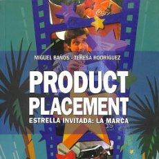 Libros de segunda mano: PRODUCT PLACEMENT. Lote 235358325