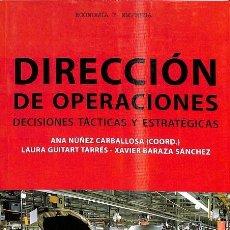 Libros de segunda mano: DIRECCIÓN DE OPERACIONES. Lote 235687000
