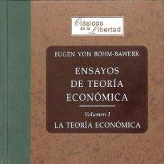Libros de segunda mano: ENSAYOS DE TEORÍA ECONÓMICA. VOL I LA TEORÍA ECONÓMICA. Lote 235687310